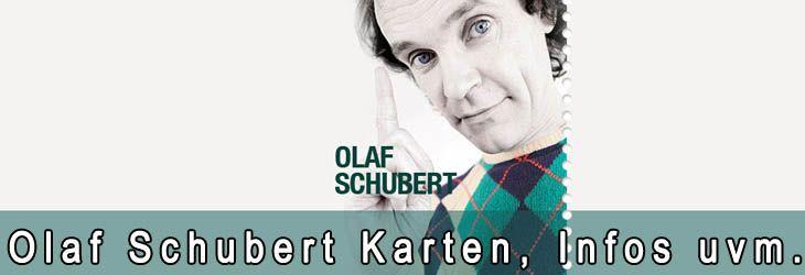 """Sucht du Karten für Olaf Schuberts Programm So? Auch 2013 tourt er durch viele Deutsche Städte. Eine genaue Auflistung der Städte für die du Olaf Schubert Karten kaufen kannst findest du am Ende der Seite. Nun aber mehr zu dem Programm """"So!"""": Manche vergöttern ihn, nicht jeder kennt ihn und was vor allem relevant ist: Der unverwechselbare Wiedererk..."""