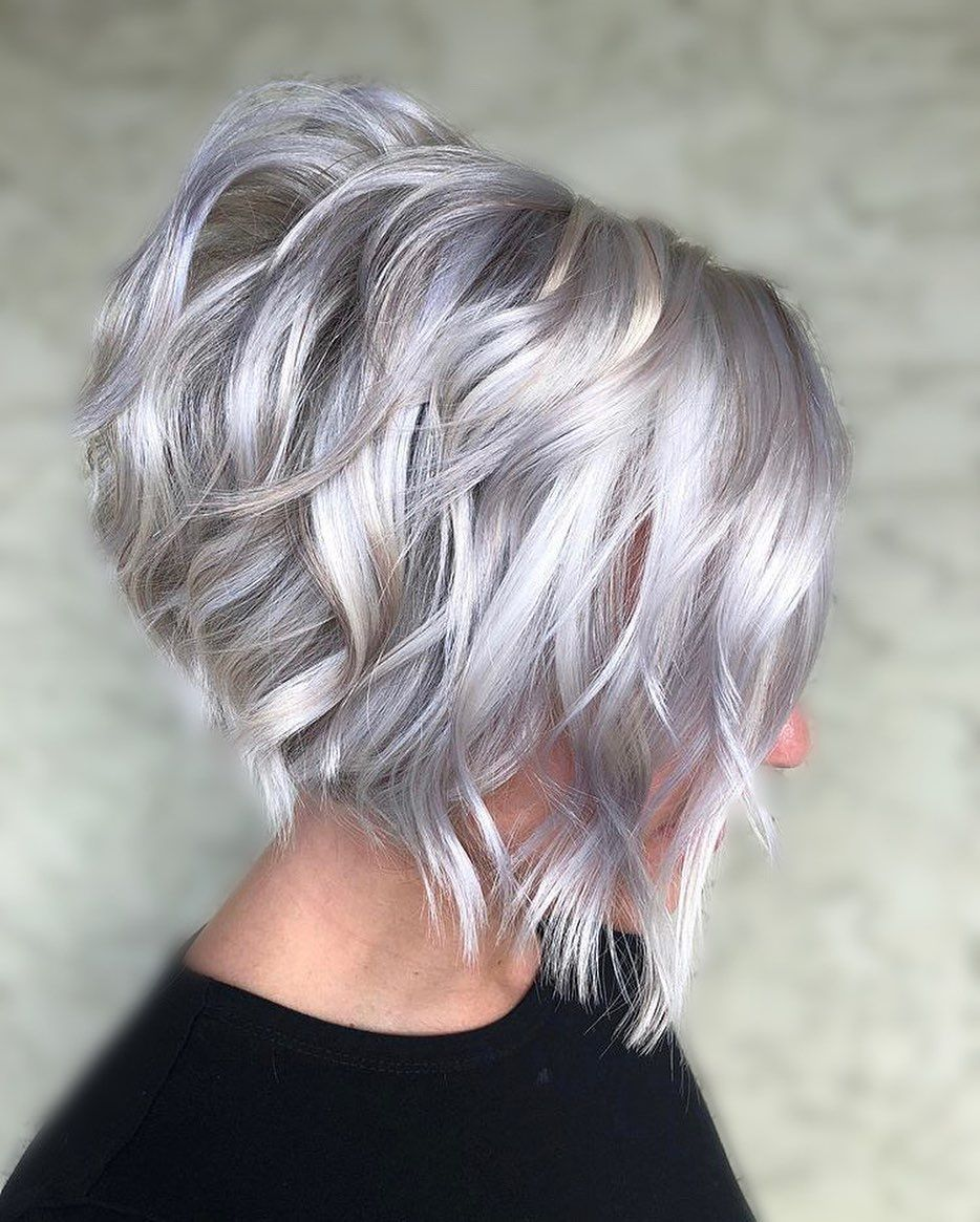 33 Hottest A Line Bob Haircuts You Ll Want To Try In 2021 Short Platinum Blonde Hair Short Blonde Haircuts Blonde Bob Haircut