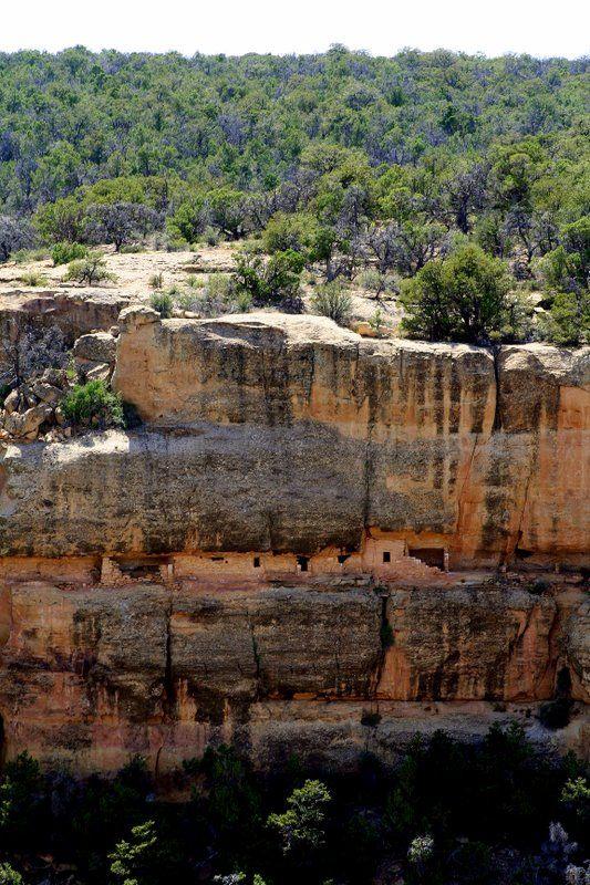 Balcony House Cliff Dwellings, Mesa Verde National Park ...