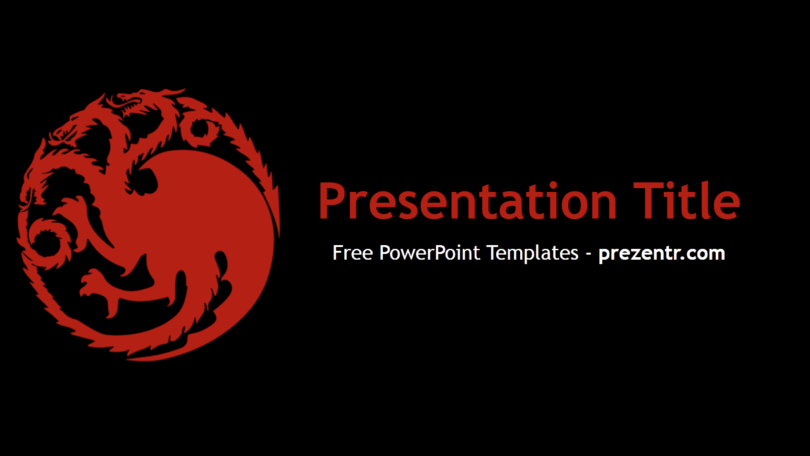 Game Of Thrones Ppt Template Google Search Ppt Template