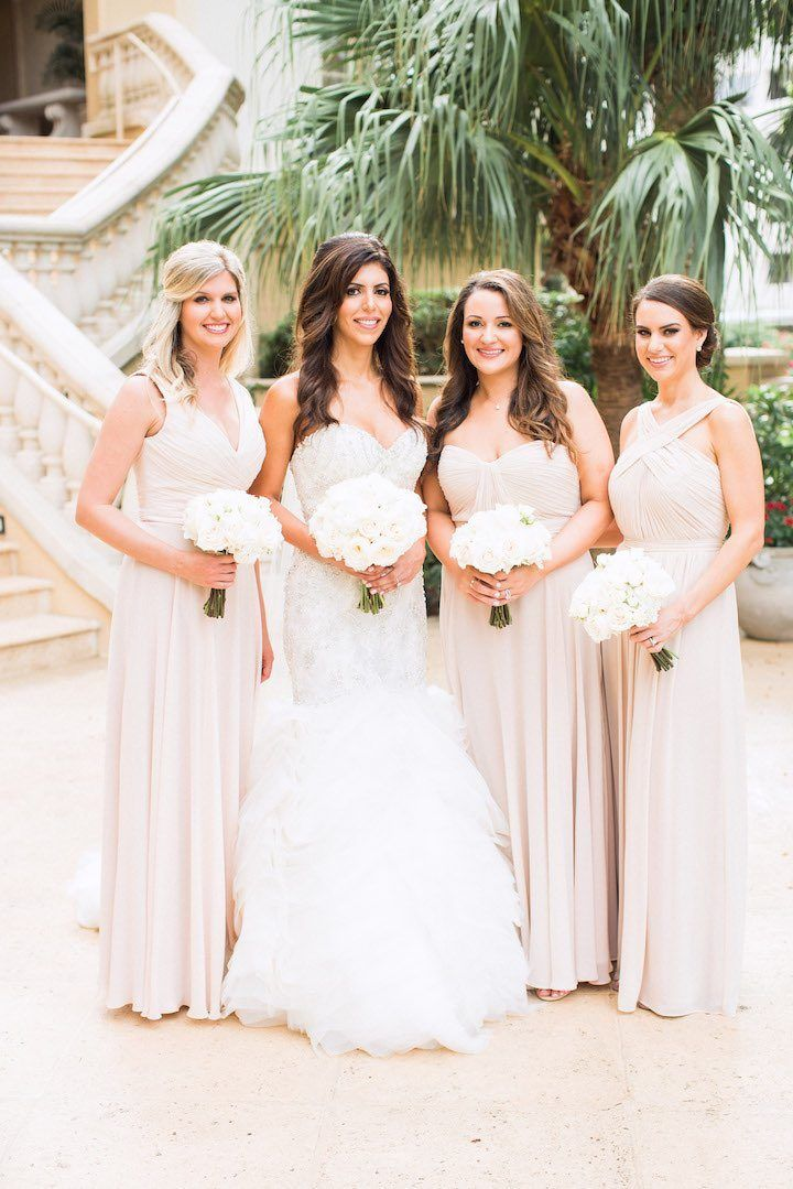 Glamorous Ivory And Gold Florida Wedding Colorsdress