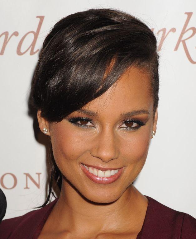 Alicia Keys lors d'un dîner mondain à New York le 4 juin 2014