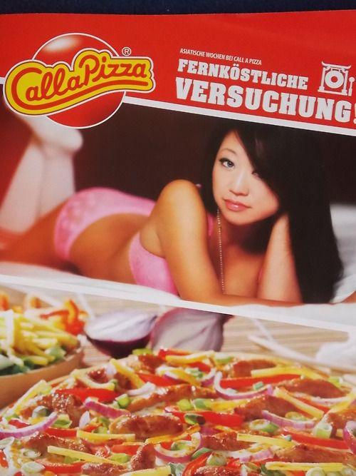 CALL A PIZZA WERBUNG