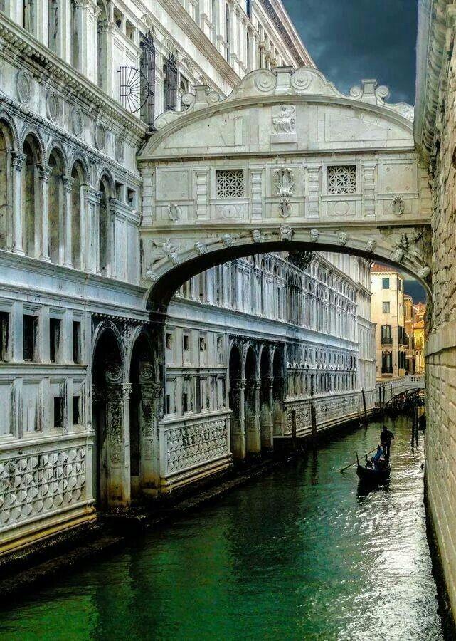 Photo of Bridge of Sighs ~ Venice, Italy