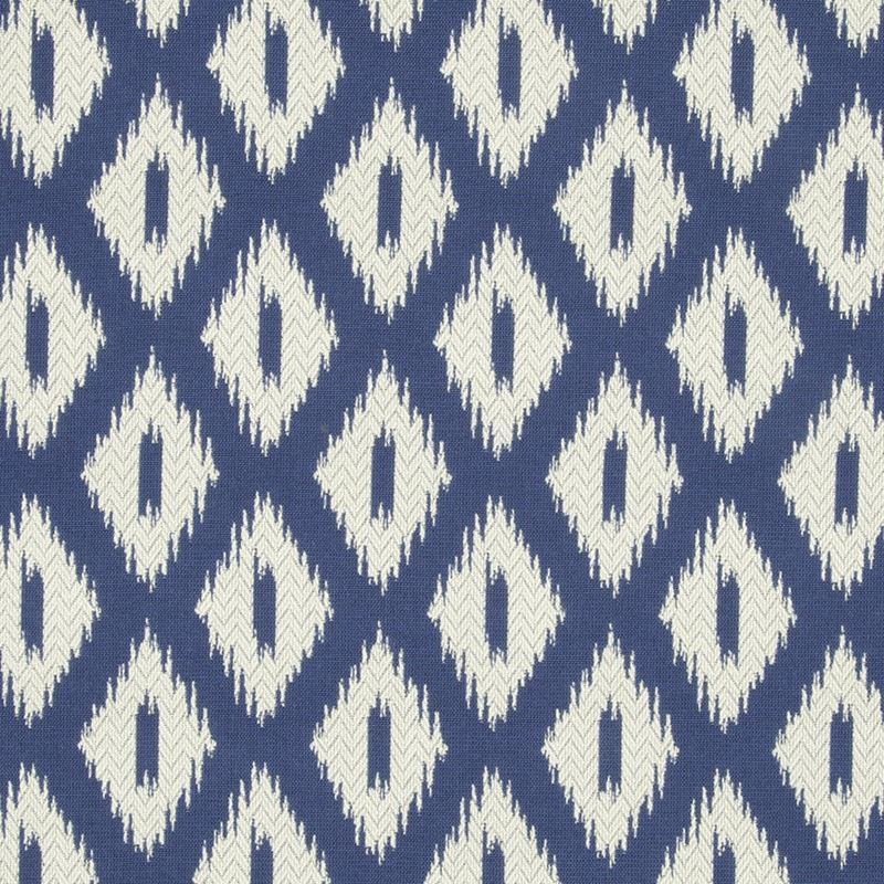 240633 Pointed Peaks Calypso Blue By Robert Allen In 2020 Blue Ikat Pillow Upholstery Fabric Blue And White Fabric