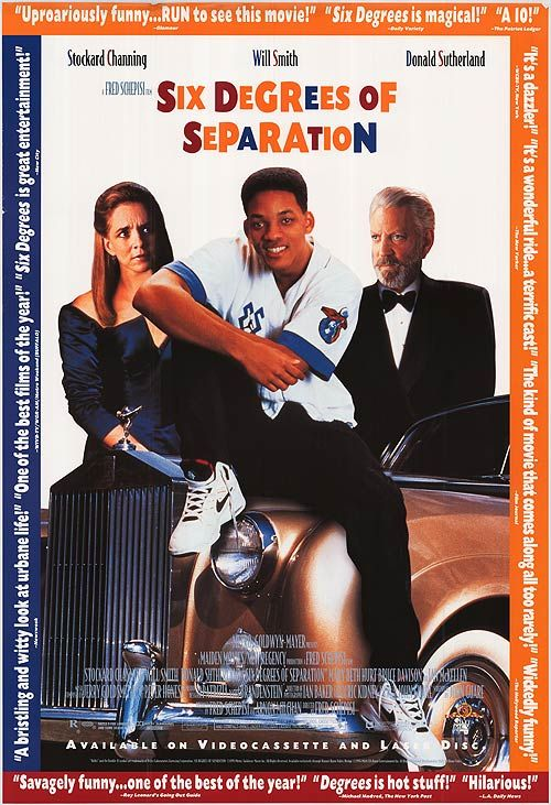 Six Degrees Of Separation 1993 Film