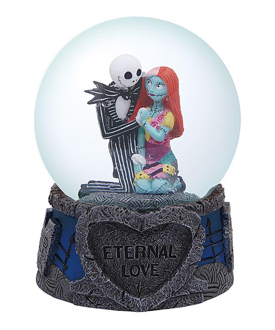 Nightmare Before Christmas \'Eternal Love\' Snow-Globe by The ...