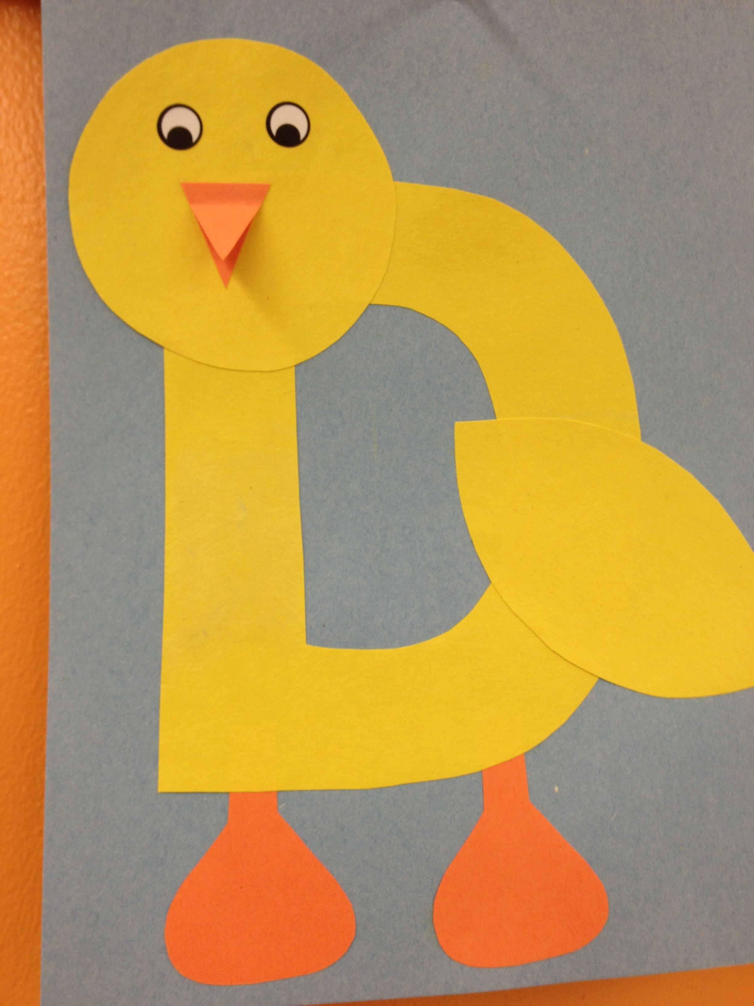 Best D Is For Duck Preschool Theme Images Abcs Yellow Worksheets Best Best Free