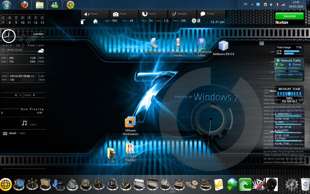 Best Wallpaper Windows 7 Live wallpaper for pc