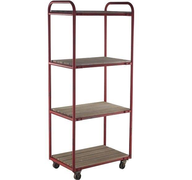 Rolling Shelf Cart 4 Tier