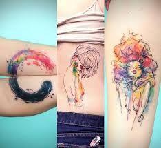 European Watercolor Tattoo Google Search Tattoos Tattoo Artists Body Art Tattoos