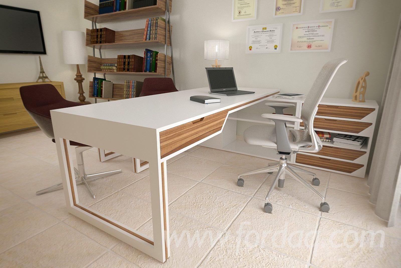 Vend Bureaux Design Autres Matieres Panneau Mdf Panneaux De Particules Agglomere Office Furniture Design Furniture Design Bureau Design