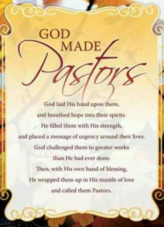 Pin by Annie Moss on Pastors | Pinterest | Pastor ...