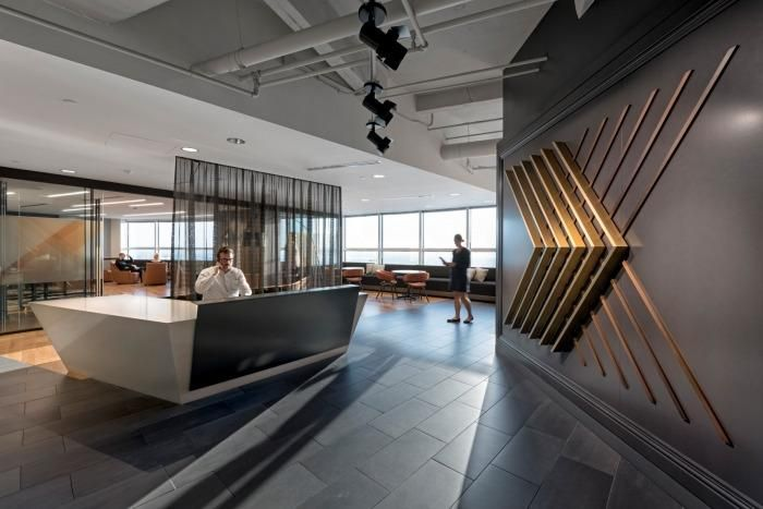 LinkedIn Office Pinterest Office interiors, Walls and Interiors