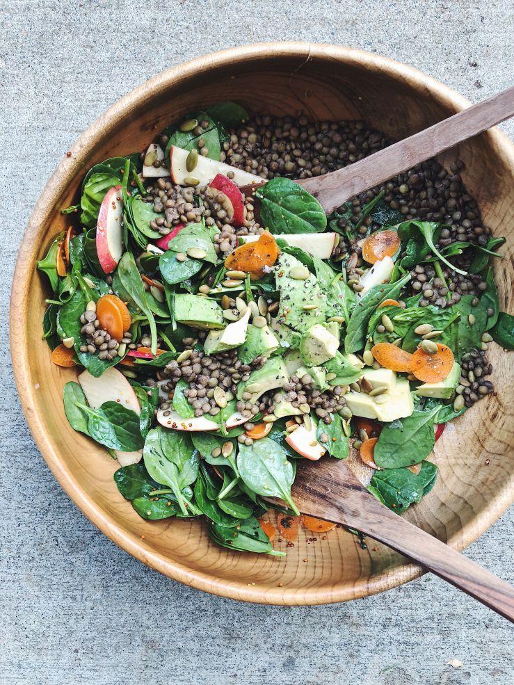 seven simple zero waste salad dressings Salad dressing