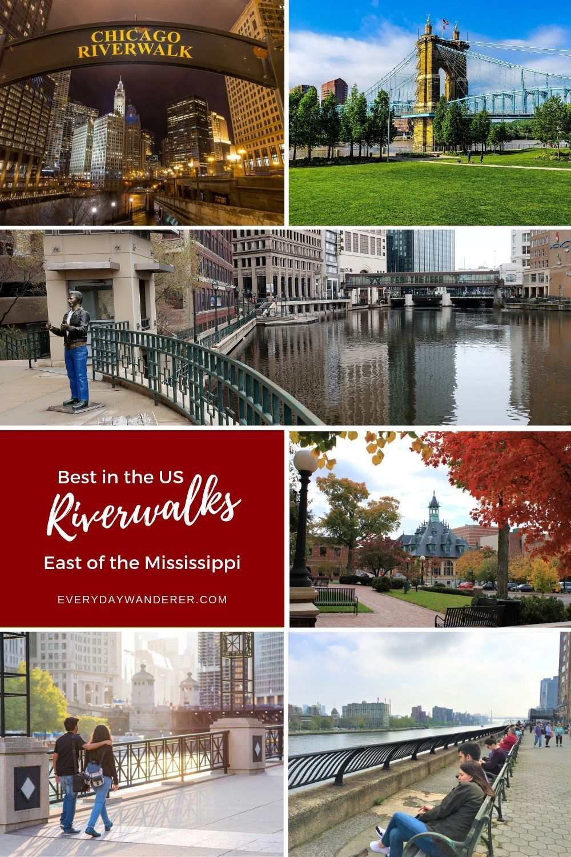 Best Riverwalks In The Us East Of The Mississippi Riverwalk Hotels Chicago Riverwalk River Walk