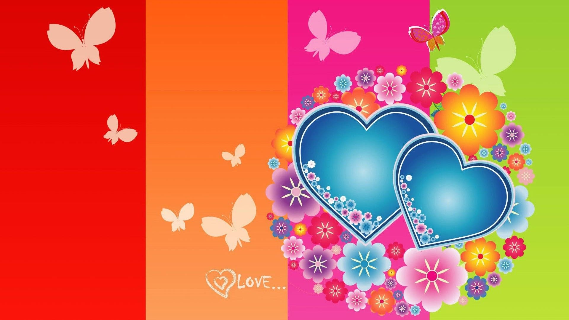 Cute Valentines Day 1920x1080 Hd Desktop Wallpaper