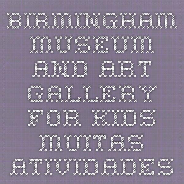 Birmingham Museum and Art Gallery for Kids - muitas atividades para Egito, Grécia e Roma