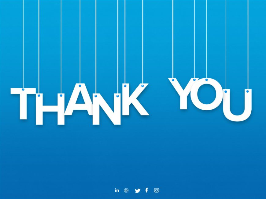 Thank You Slide 24 Thank You Slides Templates Slideuplift In 2021 Powerpoint Template Free Powerpoint Presentation Power Point Template