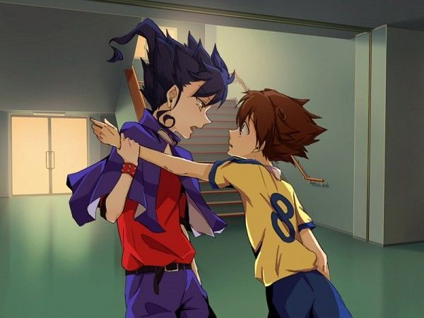 Tsurugi x tenma tsurugi x tenma anime anime couples - Inazuma eleven go victor ...