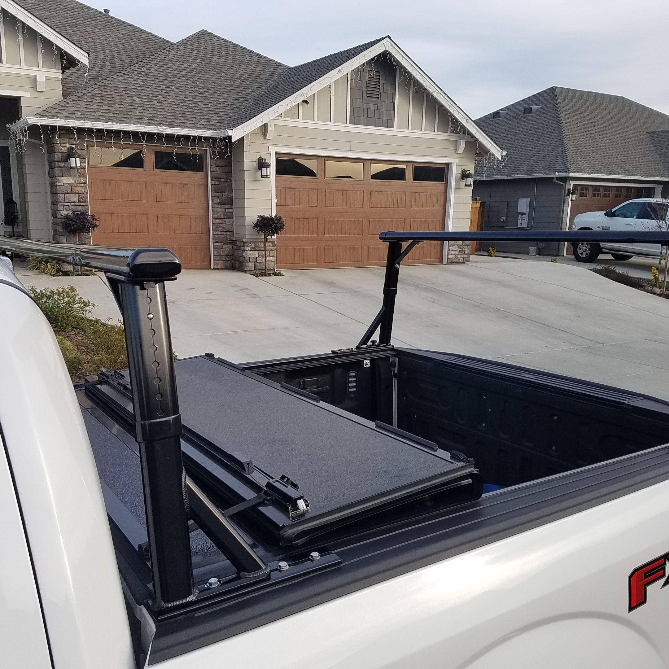 A Few Pics Of A Sport Rack With Folding Tonneau Cover
