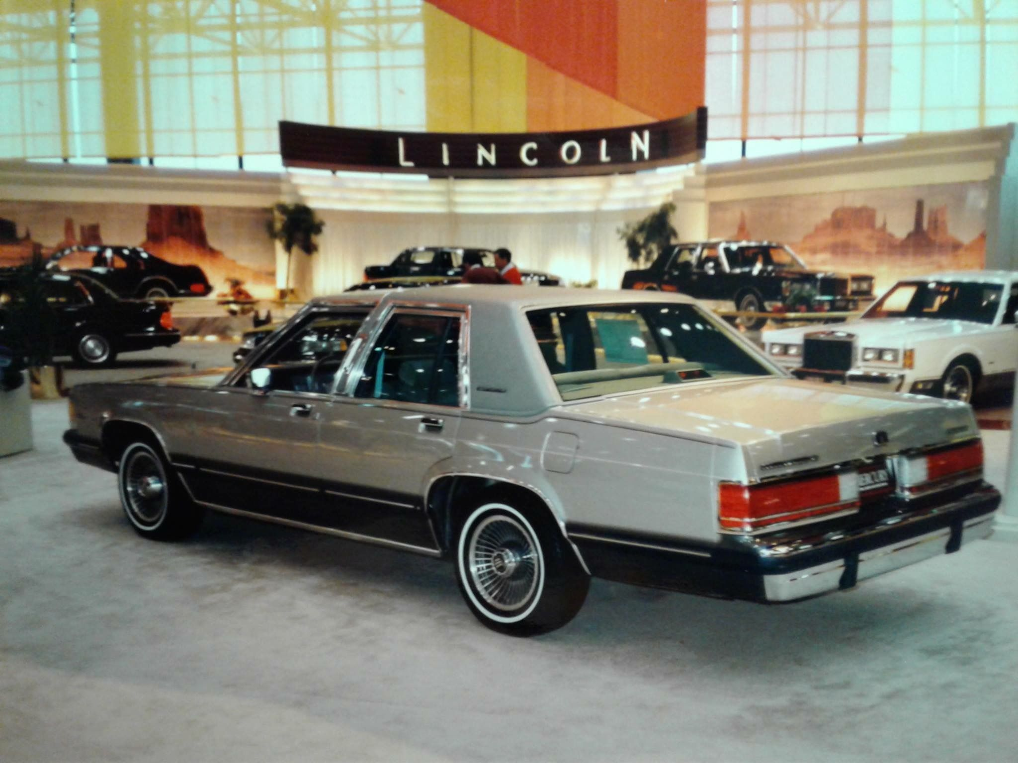 1989 mercury grand marquis at the chicago auto show