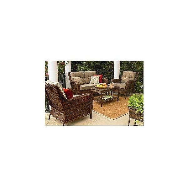 mayfield 4 pc deep seating set ty