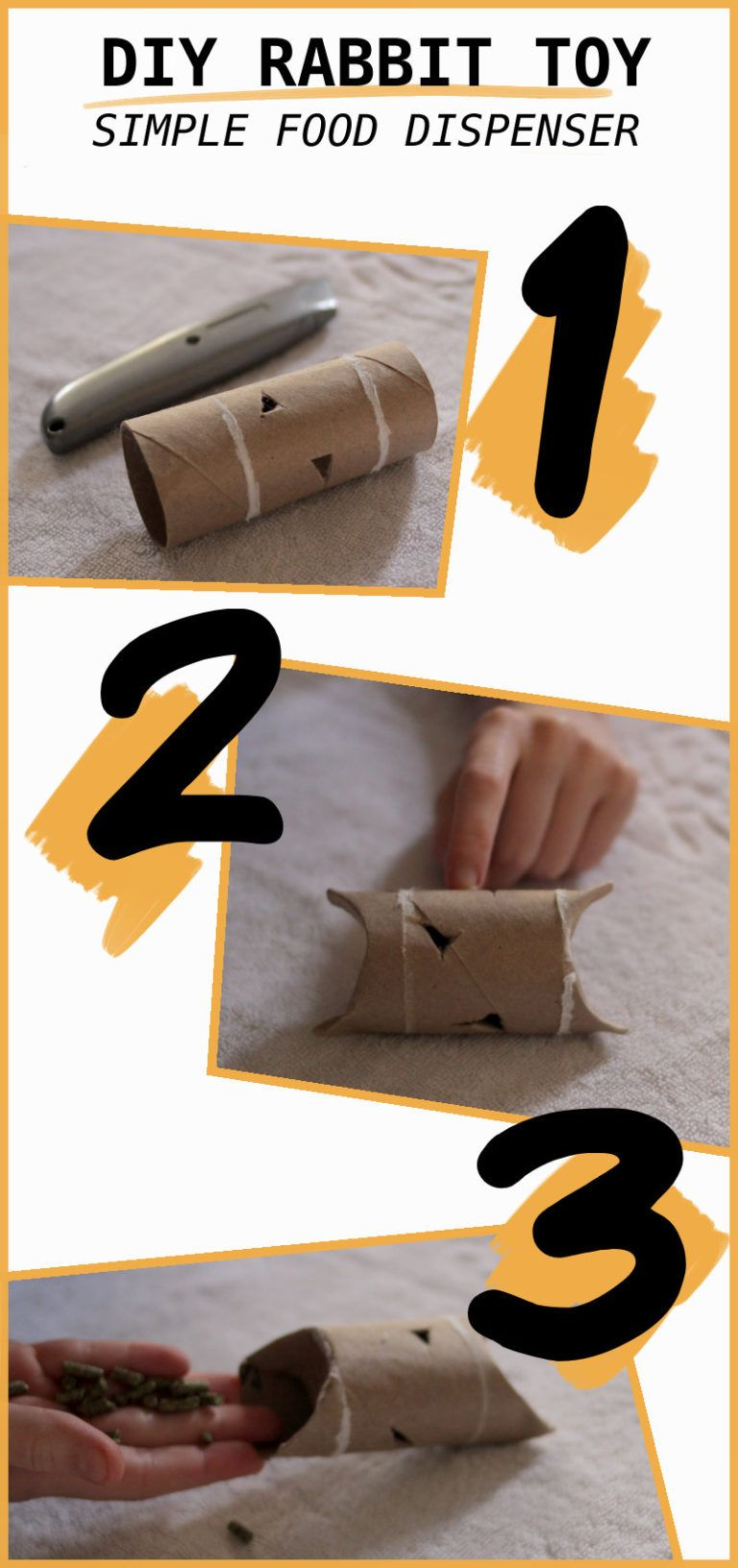 5 diy easy rabbit chew toys to make a stepbystep guide