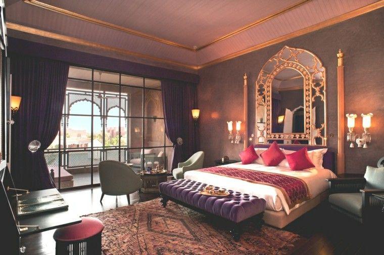 habitacin con decoracin dediseo marroqu lujoso