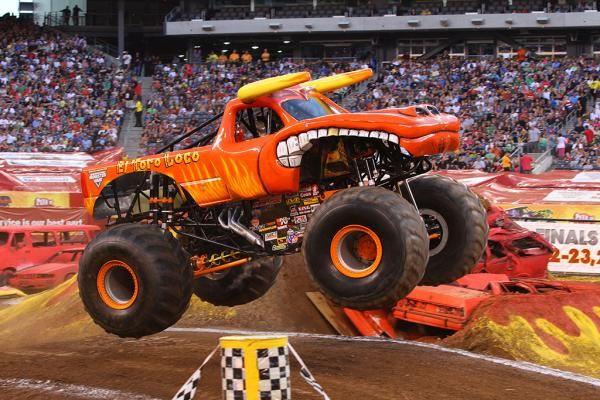 El Toro Loco Monster Trucks Mud Trucks Monster Jam