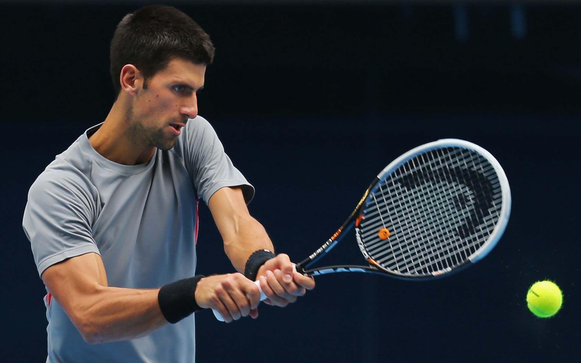 Novak Djokovic Backhand 9ine Novak Djokovic Tennis Wallpaper Celebrity Wallpapers