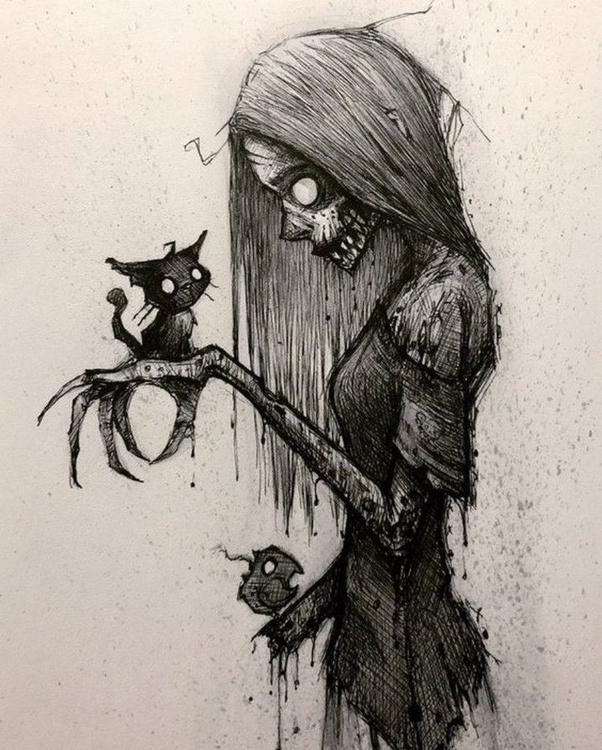 Horror Bilder Zeichnen