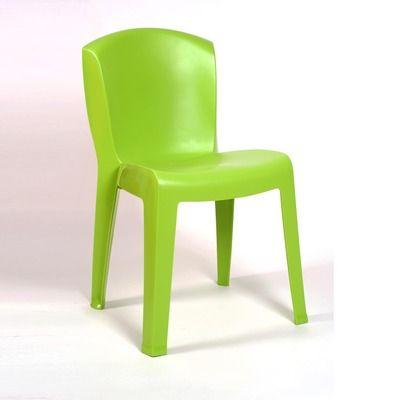 Lot de 4 chaises EUROPA verte