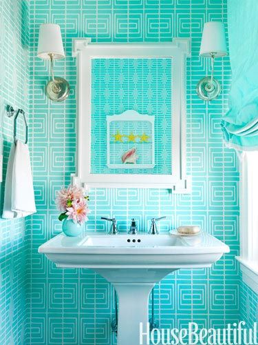 See Ya Winter 50 Easy Ways To Freshen Up Your Home For Spring Best Bathroom Designs Beautiful Bathrooms Chic Beach House