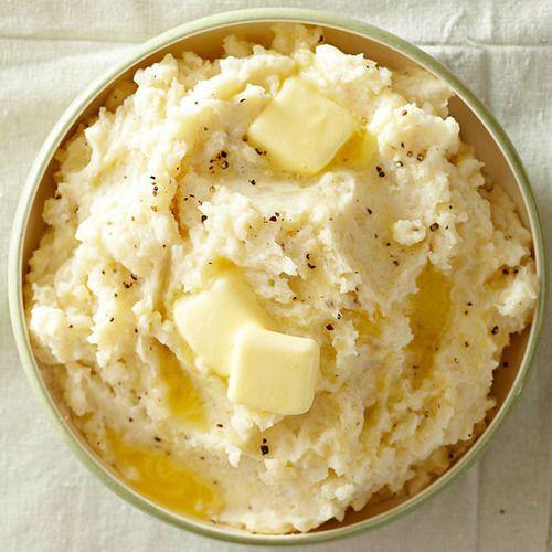 Rustic Garlic Mashed Potatoes Recipe Yummy Stuff Pinterest