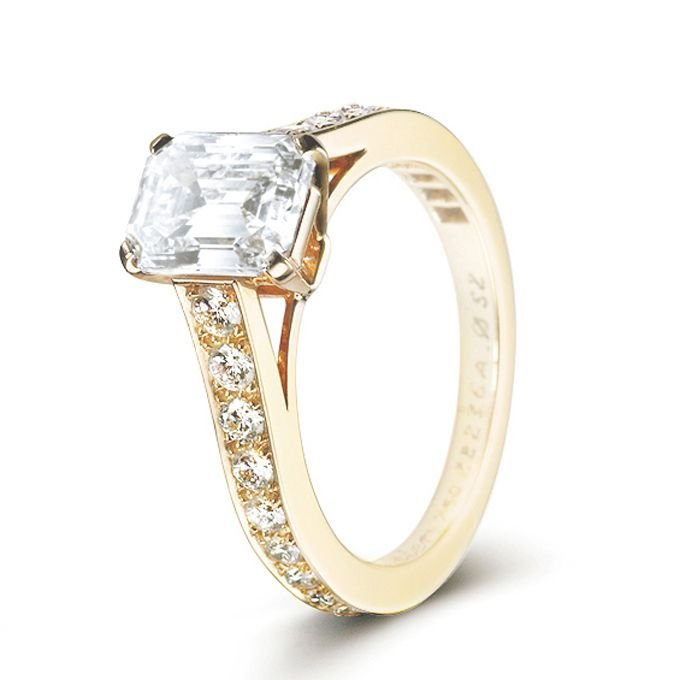 bridescom 36 yellow gold engagement rings for every type of bride style - Cartier Wedding Rings