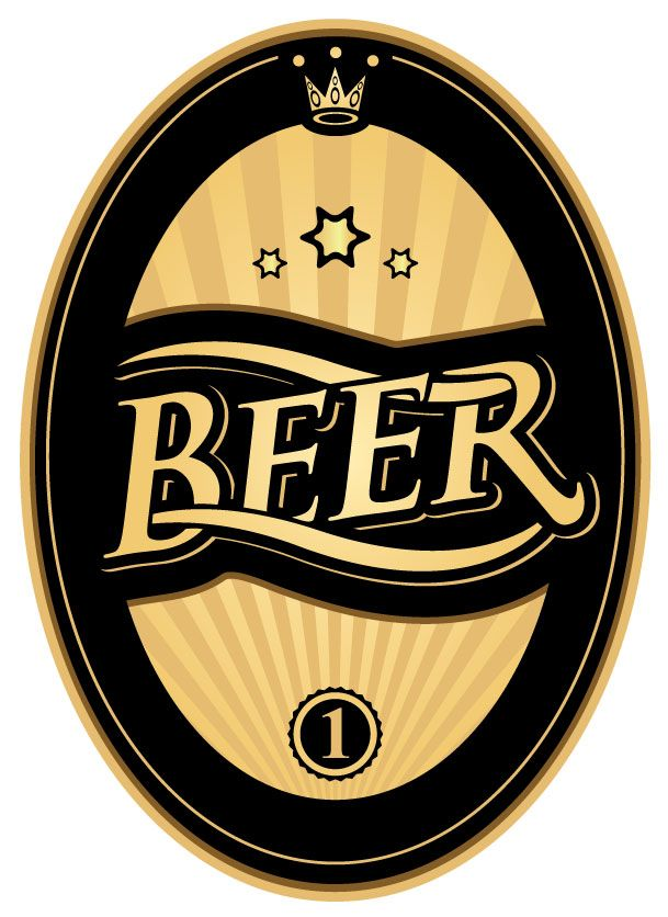 BlackAndGoldBeerLabelReadyForWebJpg   Beer Label