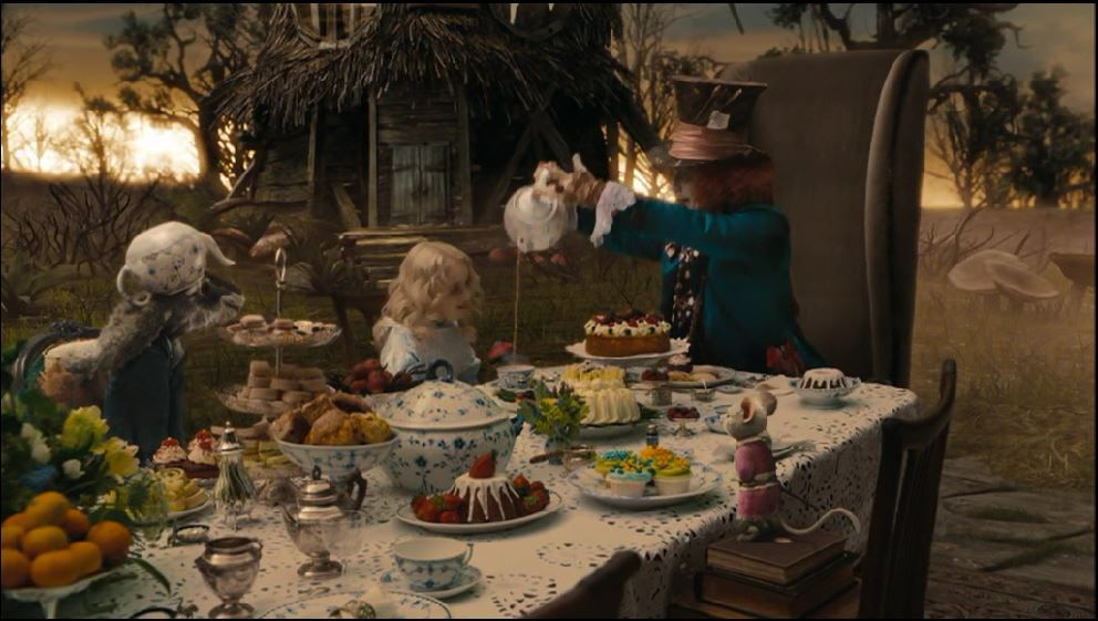 Alice In Wonderland The Colouring And Lighting Is More Golden