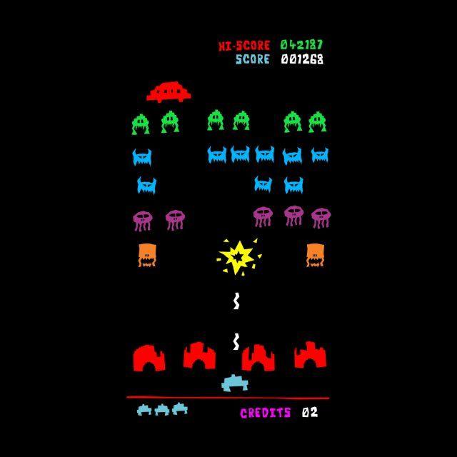Space Invaders Piggyblack Space Invaders Space Invaders Art Space Invaders Arcade