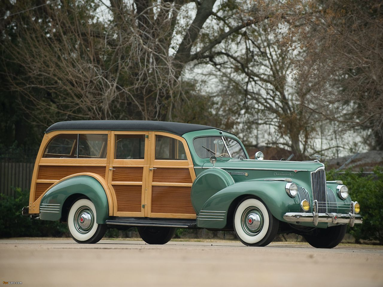 Packard 120 woodie wagon