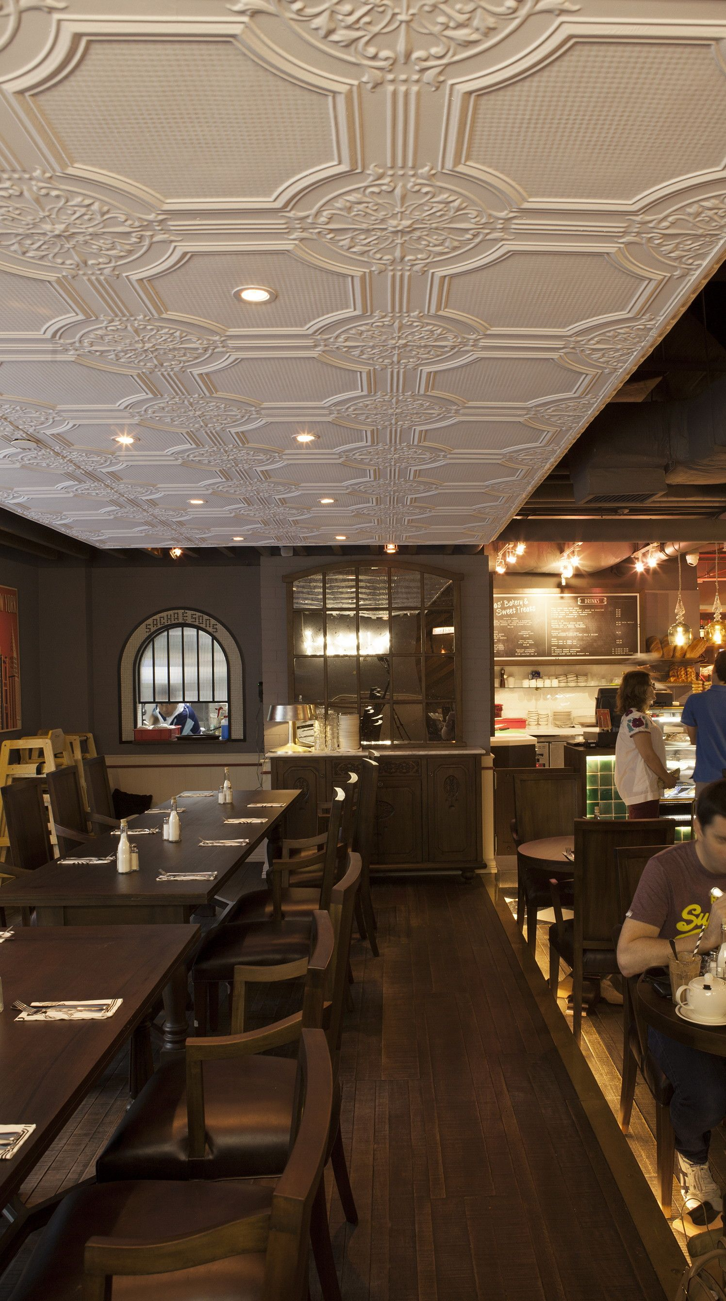 sacha & sons ceiling in singapore where the pressed tin design