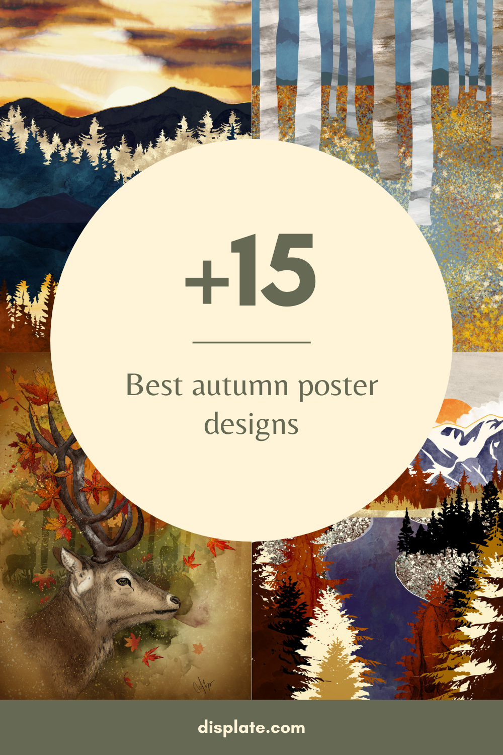 +10 Best autumn poster designs | Displate thumbnail