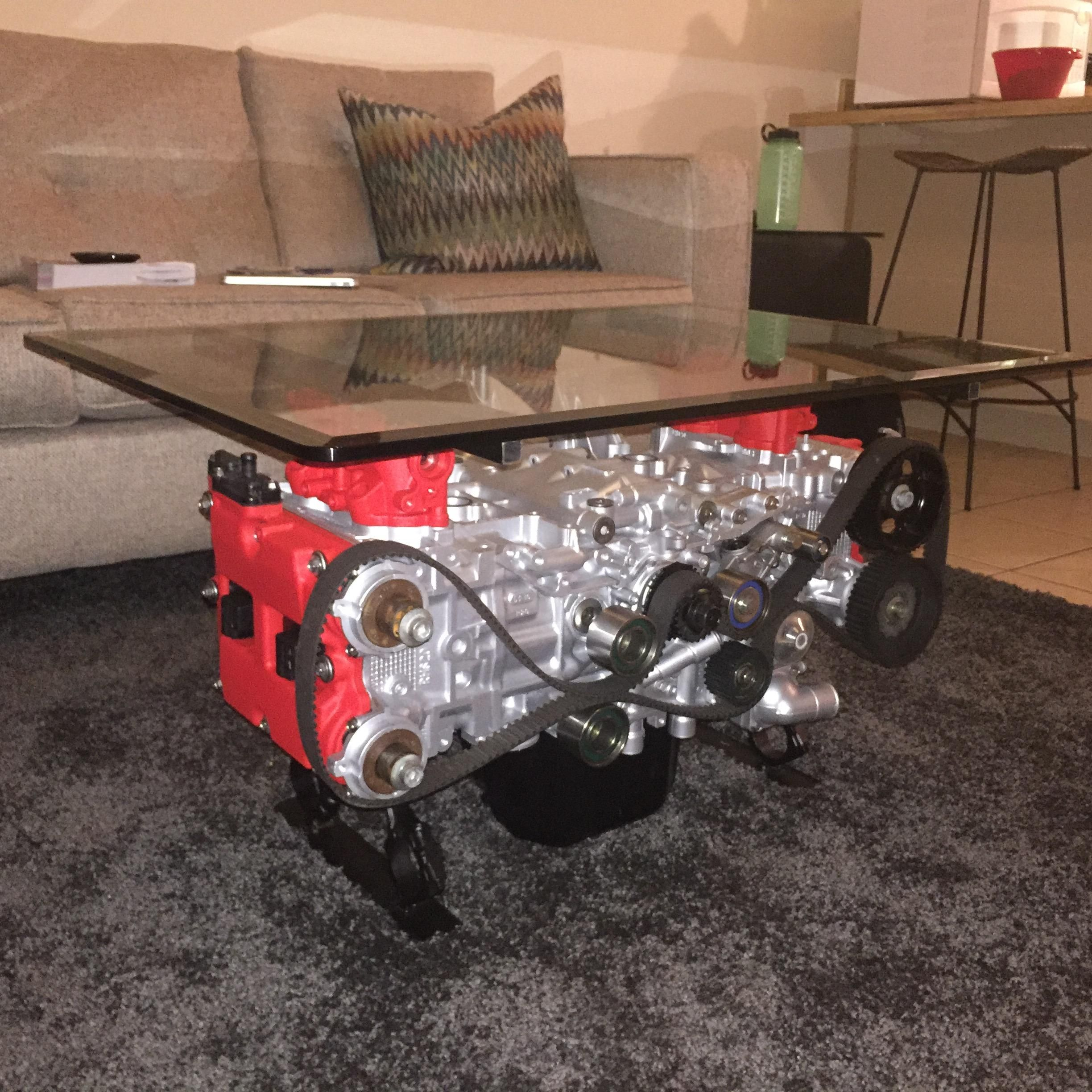 Boxer Engine Coffee Table Updated With Material List And Instructions Quickcrafter