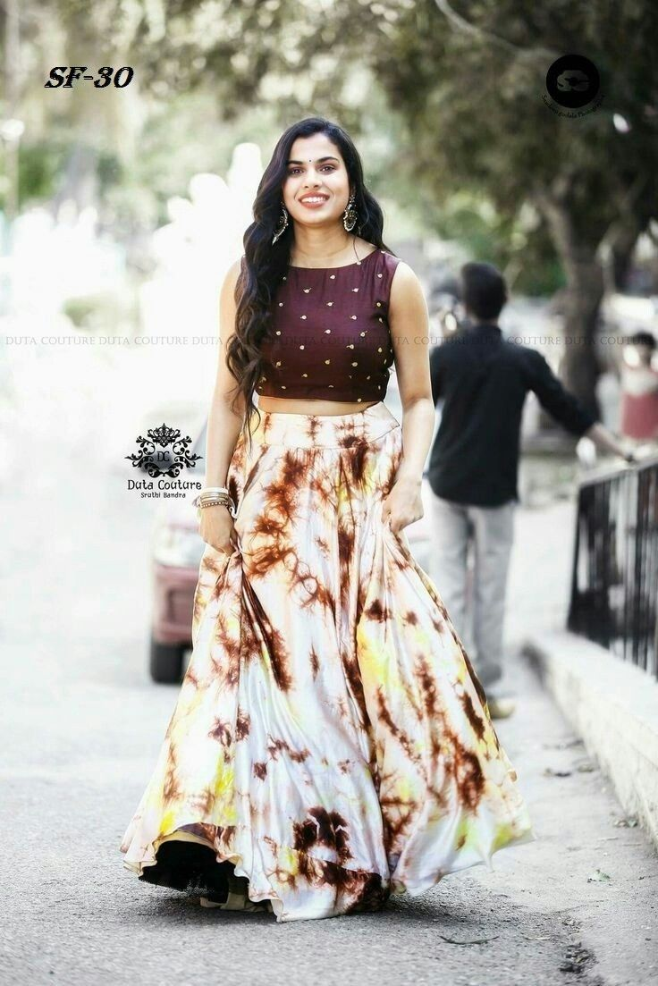 82e8f70c7 Long Skirt And Crop Top Indian
