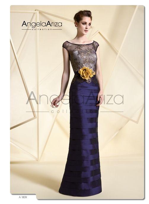 115619b26 Trajes de madrina con colores espectaculares y diseño favorecedores en la  selección Glamour de Novias Pilar Gil