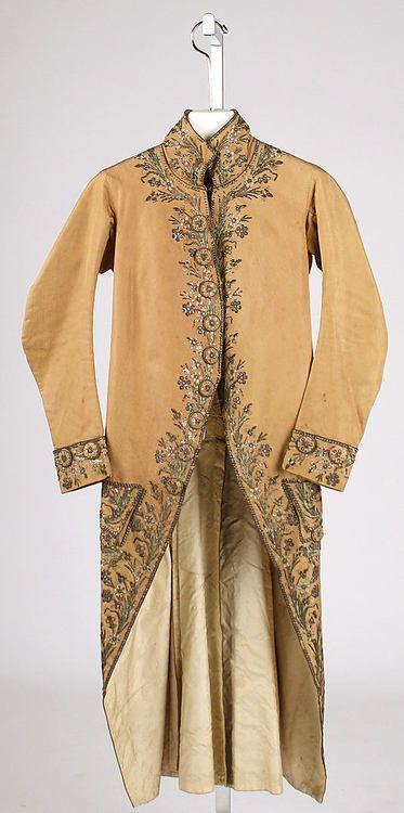 Coat  1760-1780  The Metropolitan Museum of Art