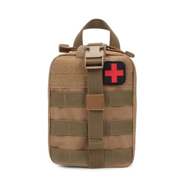 Tactical Emergency First Aid Pack Empty Survival Bag Emergency First Aid Kit Tactical Pouches