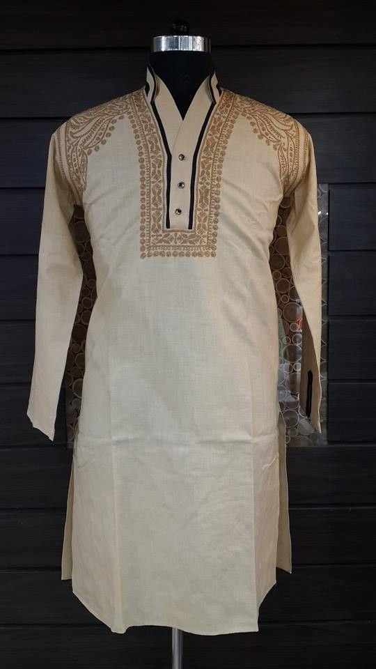 Chikan Lucknowi boys kurta pyjama pajama cotton kids babies hand embroidered