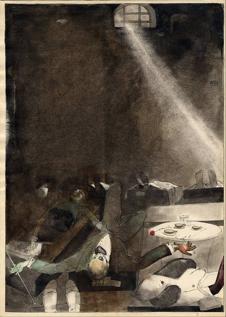'Afternoon Tea in The Morgue' by Kārlis Padegs.
