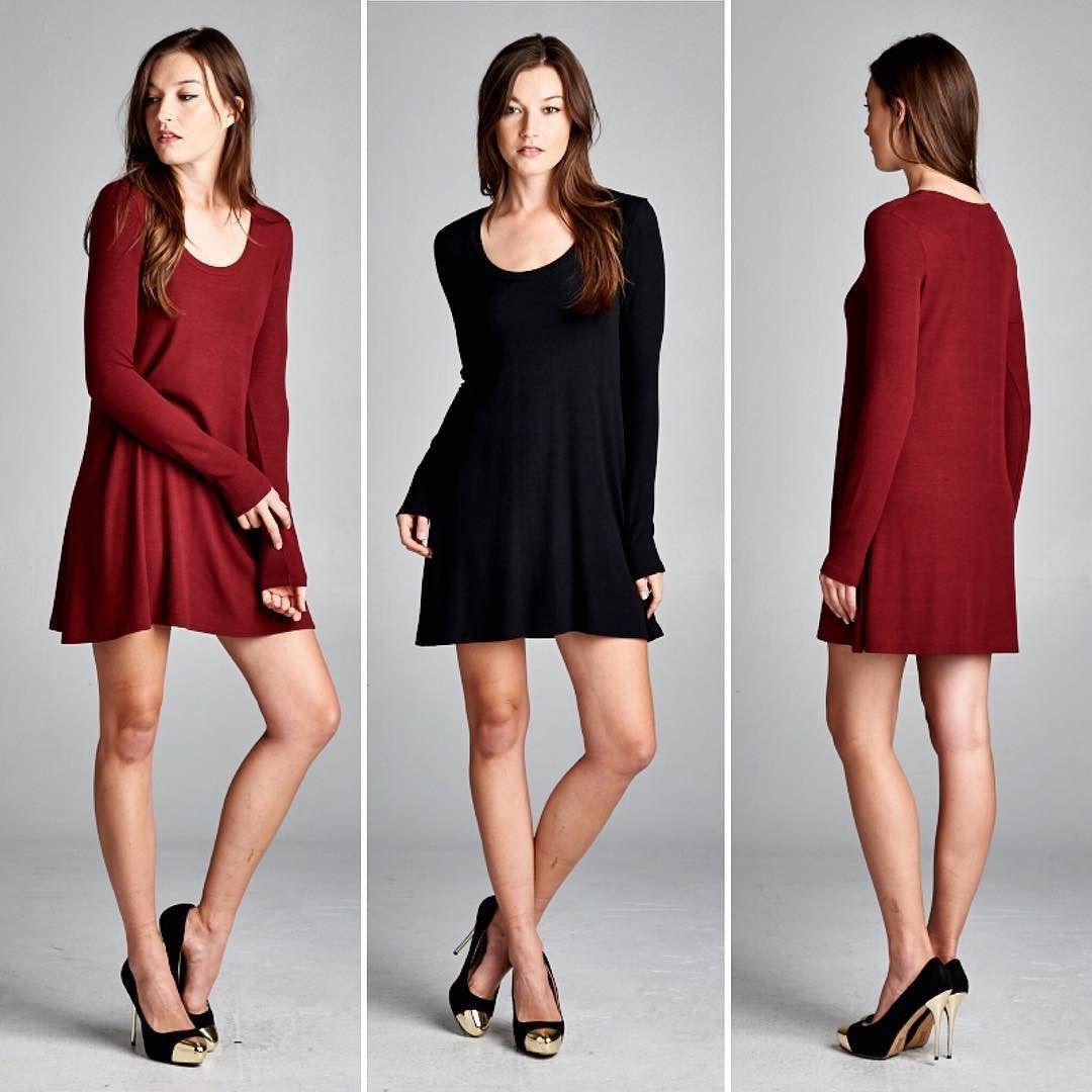 D5273 Semi-loose fit long sleeve round neck dress. This dress is made with medium weight ribbed knit fabric that is soft drapes well and has great stretch.  #cherishusa #cherishapparel #shopcherish #fallfashion #fashionbuyer #boutique #fashion #fashiondiaries #instafashion #instastyle #fashionstyle #ootd #fashionable #fashiongram #fallstyle #clothingbrand #fall2015 #fallfashion #dress #roundneck #ribbedknit http://bit.ly/cherish-D5273